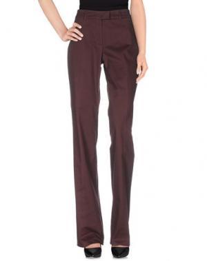 Повседневные брюки BALLANTYNE. Цвет: красно-коричневый