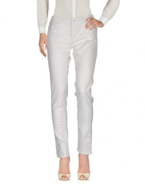 Повседневные брюки NINE:INTHE:MORNING. Цвет: светло-серый