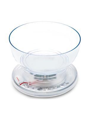 Весы кухонные механические Supra BSS-4050 макс.вес:5кг. Цвет: серый