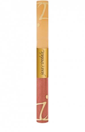 Блеск для губ с фиксатором Mania Lip Fixation jane iredale. Цвет: бесцветный