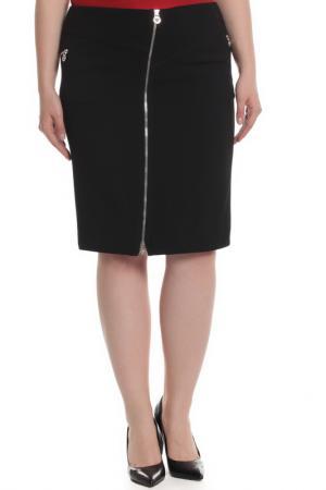 Юбка Versace. Цвет: черный