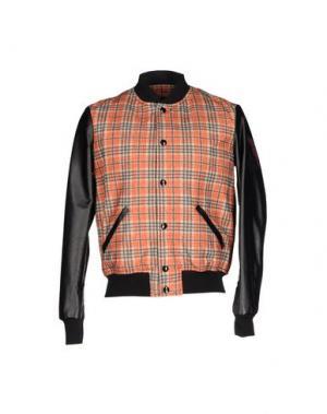 Куртка TRE CINQUE SETTE. Цвет: ржаво-коричневый