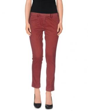 Повседневные брюки GABARDINE. Цвет: кирпично-красный