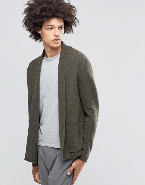 Weekday Кардиган из вареной шерсти Jab. Цвет: зеленый