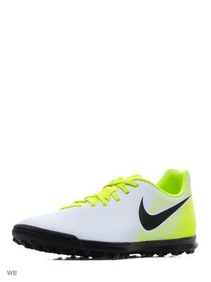 Шиповки MAGISTAX OLA II TF Nike. Цвет: белый