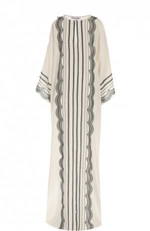 Платье Oscar de la Renta. Цвет: черно-белый