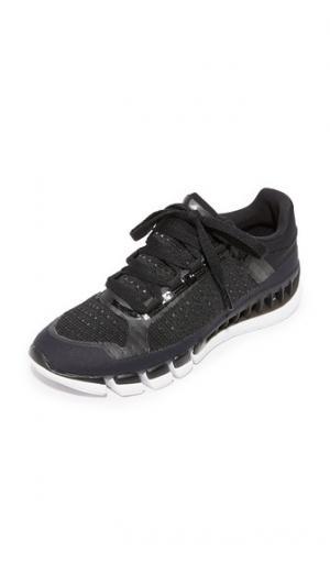 Кроссовки Clima Cool adidas by Stella McCartney. Цвет: черный и белый/однотонный серый