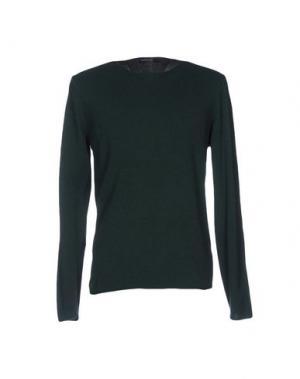 Свитер WOOL & CO. Цвет: темно-зеленый