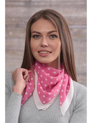 Платок FOMAS. Цвет: розовый, молочный