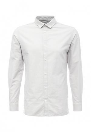 Рубашка Jack & Jones. Цвет: серый