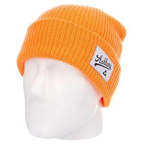 Шапка  Og Orange Ashbury. Цвет: оранжевый