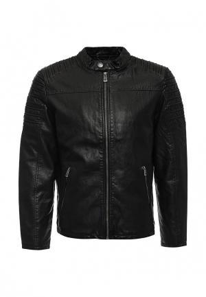 Куртка кожаная Q/S designed by. Цвет: черный