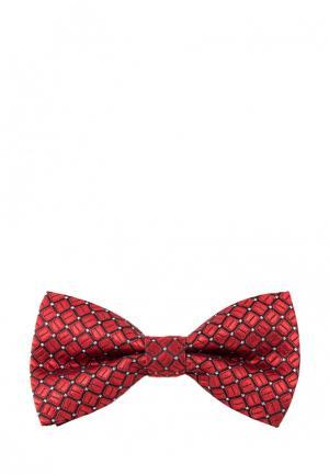 Бабочка Churchill accessories. Цвет: красный