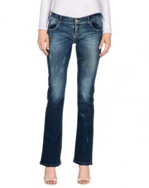 Джинсовые брюки ECO. Цвет: синий