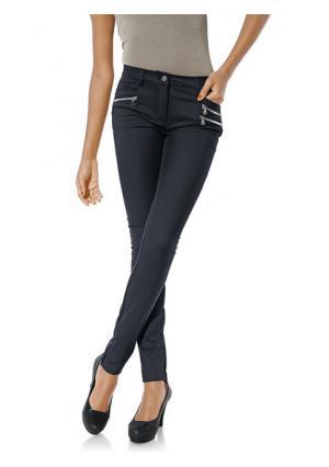 Моделирующие брюки Ashley Brooke. Цвет: светло-коричневый, серо-коричневый, темно-синий, хаки, черный
