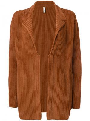 Вельветовое пальто Boboutic. Цвет: коричневый