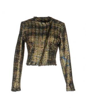 Куртка ODI ET AMO. Цвет: золотистый