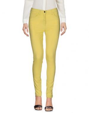 Повседневные брюки ROBERTA PUCCINI by BARONI. Цвет: кислотно-зеленый