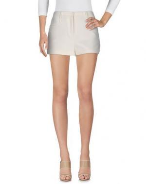 Повседневные шорты TAMARA MELLON. Цвет: белый