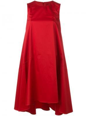 Расклешенное платье Ultràchic. Цвет: красный