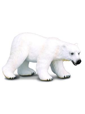 Полярный медведь, L Collecta. Цвет: белый