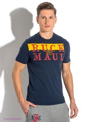 Футболка Ruck&Maul. Цвет: темно-синий, красный, желтый