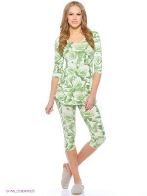 Пижама Vaide. Цвет: зеленый