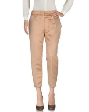 Повседневные брюки ELISABETTA FRANCHI. Цвет: телесный
