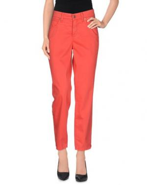 Повседневные брюки CAMBIO. Цвет: красный