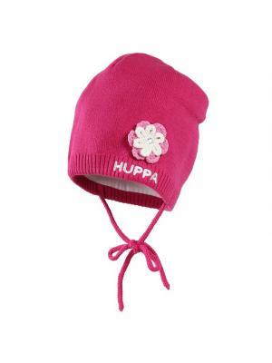 Вязаная детская шапка BETTY HUPPA. Цвет: фуксия