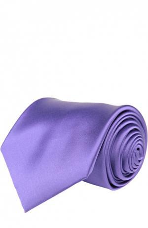 Галстук Brioni. Цвет: фиолетовый