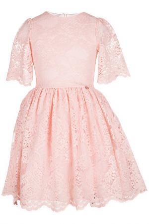 Платье LOVE MADE. Цвет: розовый