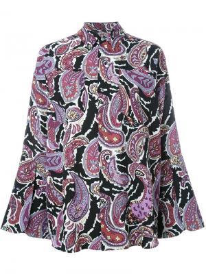 Рубашка Georgette G.V.G.V.. Цвет: многоцветный