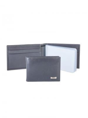 Футляр для карт с карманами Tirelli. Цвет: серый