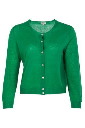 Кардиган P.A.R.O.S.H.. Цвет: зеленый