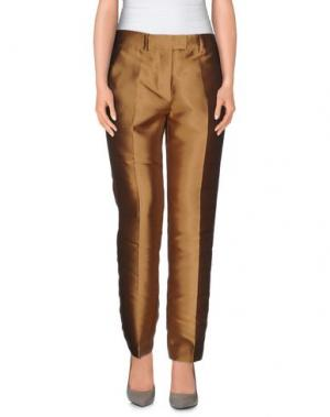 Повседневные брюки NORMALUISA. Цвет: хаки