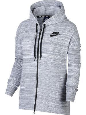 Куртка W NSW AV15 JKT KNT Nike. Цвет: белый