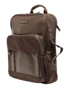 Рюкзаки и сумки на пояс TAVECCHI. Цвет: голубиный серый