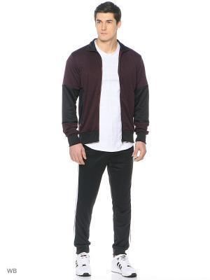 Костюм GAME TIME TS  MAROON/WHITE/BLACK Adidas. Цвет: бордовый, белый, черный