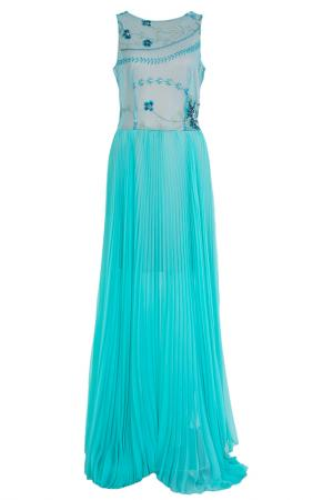 Платье Von Vonni. Цвет: бирюзовый