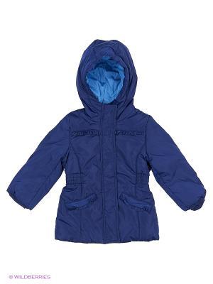 Куртка INCITY. Цвет: синий