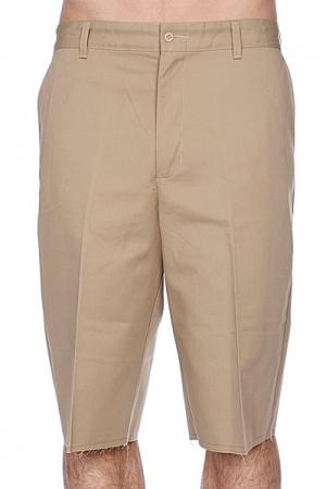 Классические мужские шорты  No Bs Work Khaki Independent. Цвет: бежевый