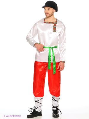 Карнавальный костюм Ванюшка (д/взр) Батик. Цвет: белый, кремовый