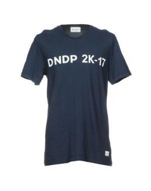 Футболка DONDUP. Цвет: темно-синий