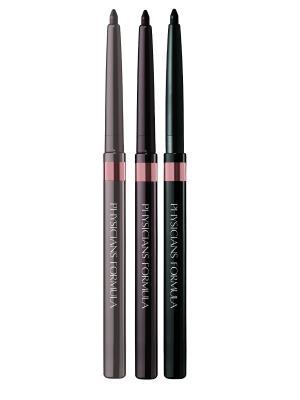 Карандаши для век Shimmer Strips Custom Eye Enhancing Eyeliner Trio-Nude Eyes, 0.85 г Physicians Formula. Цвет: черный, золотистый, светло-коричневый