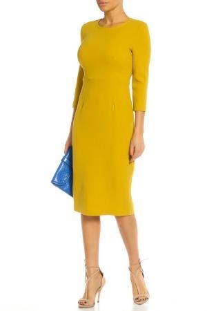 Платье P.A.R.O.S.H.. Цвет: желтый