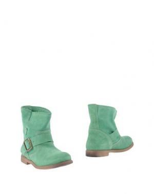 Полусапоги и высокие ботинки KENT. Цвет: светло-зеленый