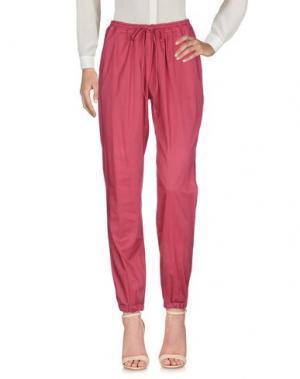 Повседневные брюки EUROPEAN CULTURE. Цвет: красный