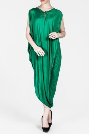 Платье Moda di Lorenza. Цвет: green