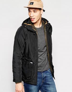Puffa Куртка Billinghay. Цвет: черный
